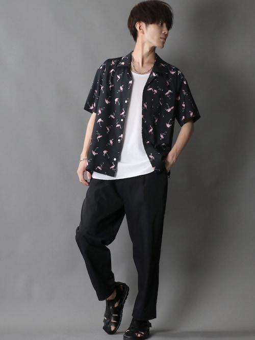 Kanoさんの「One tack Twill chef pants/ワンタック ツイルイージー シェフパンツ【2021 SPRING】(SITRY)」を使ったコーディネート